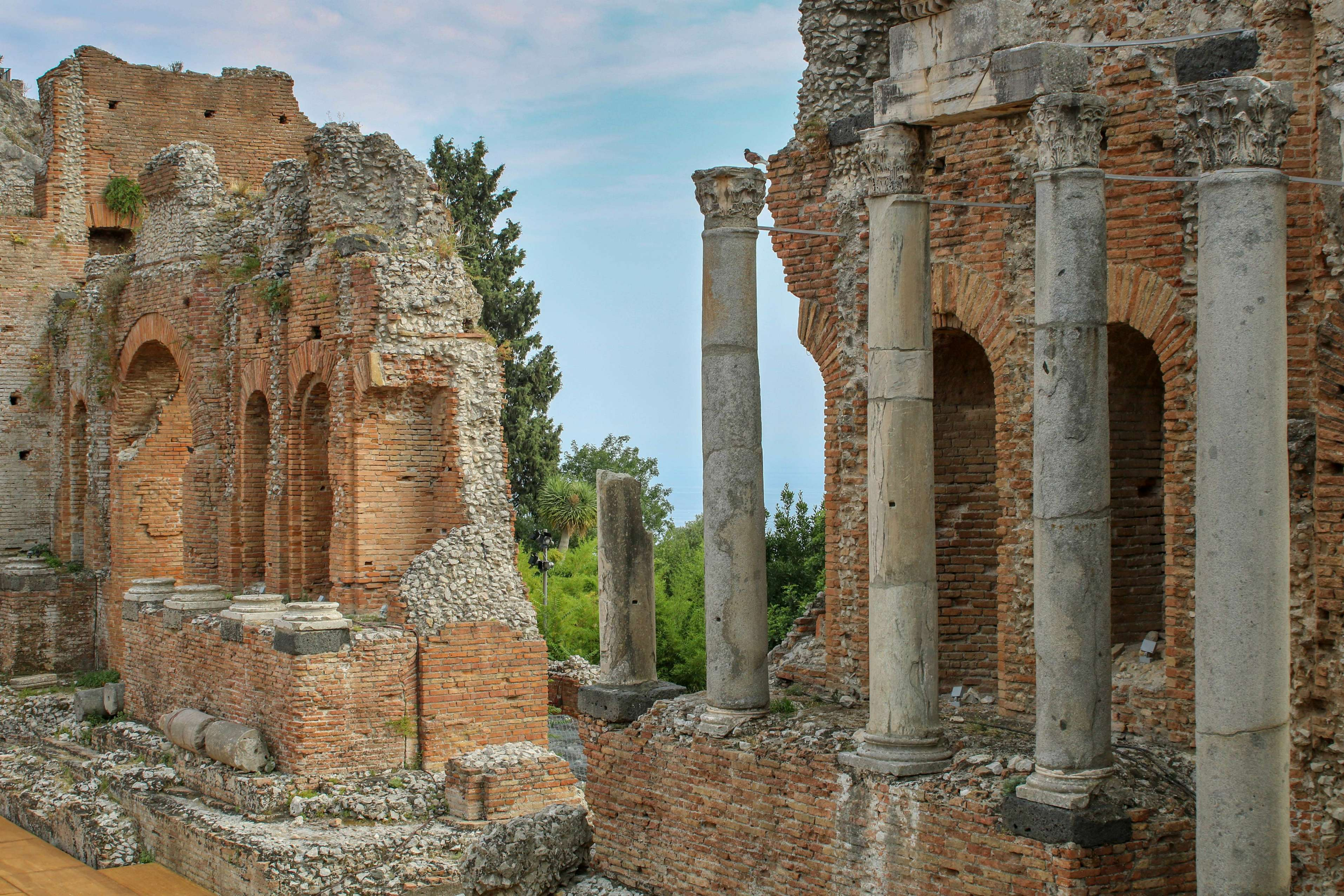 Griechisches Theater (Teatro Greco) in Taormina.