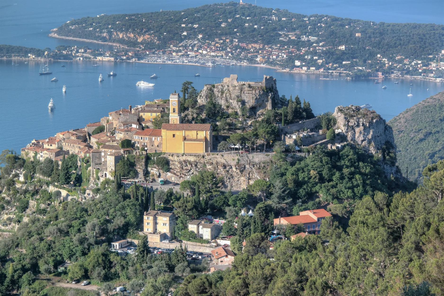 Èze - das schönste Panorama der Côte dAzur -